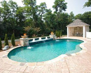 Gunite pools - pool design